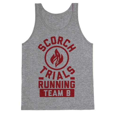Scorch Trials Running Team B Tank Top