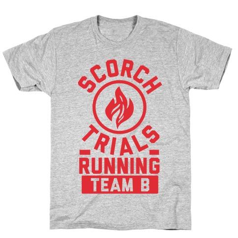 Scorch Trials Running Team B T-Shirt