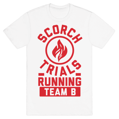 Scorch Trials Running Team B Mens T-Shirt