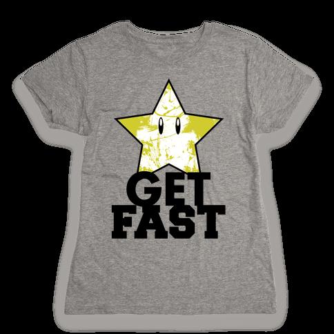 Nerd Run Womens T-Shirt