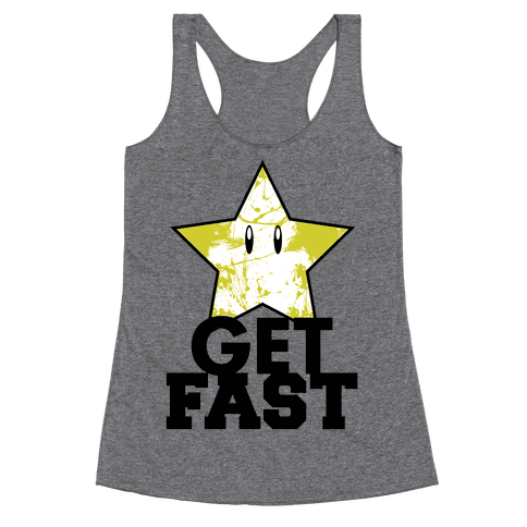 Nerd Run Racerback Tank Top