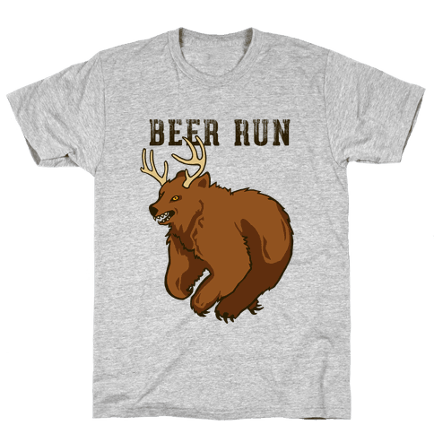 Beer Run Mens T-Shirt