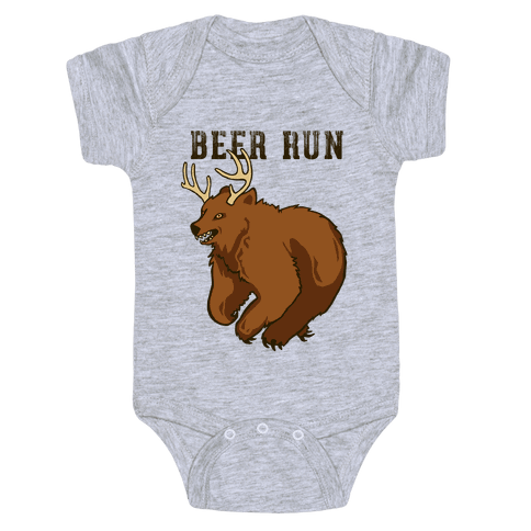 Beer Run Baby Onesy