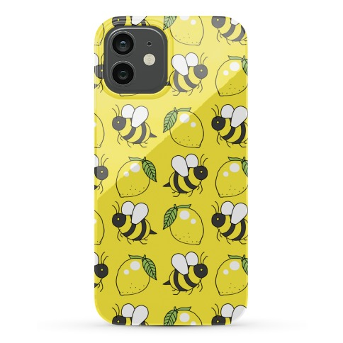 Lemon and Bee Phone Case