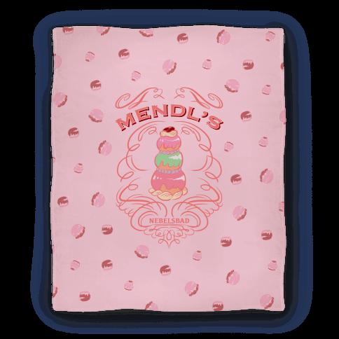 Mendl's Bakery Blanket