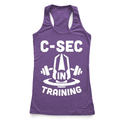 C-Sec In Training Racerback Tank Top