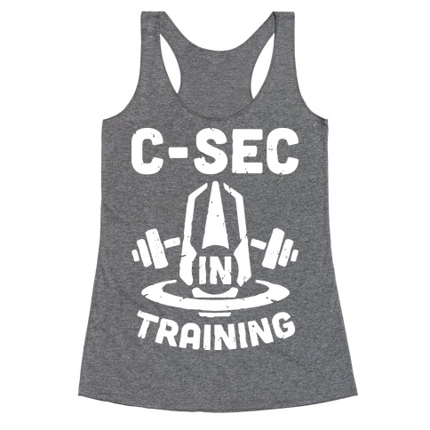 C-Sec In Training Racerback Tank Top