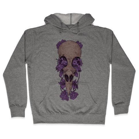 Bird Skull Hooded Sweatshirt