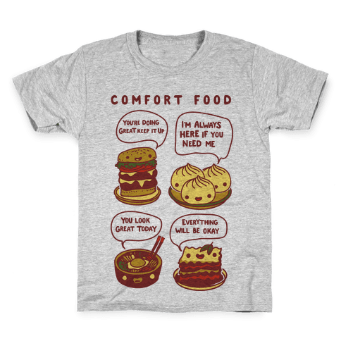 Comfort Food Kids T-Shirt