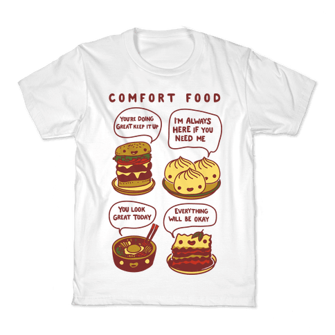 Comfort Food Kids T-Shirt