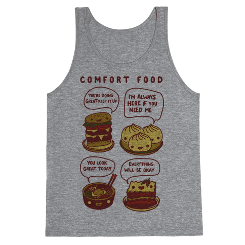 Comfort Food Tank Top