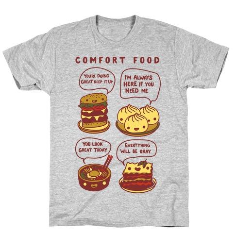 Comfort Food Mens/Unisex T-Shirt