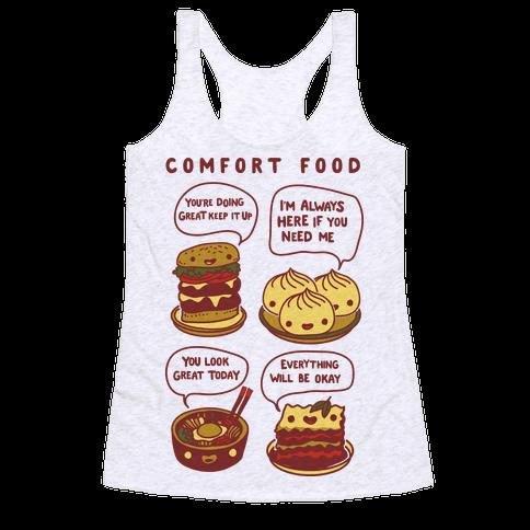 Comfort Food Racerback Tank Top