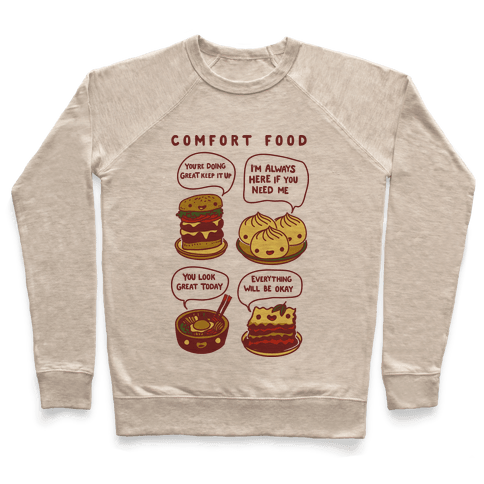 Comfort Food Pullover