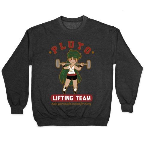 Pluto Lifting Team Parody Pullover