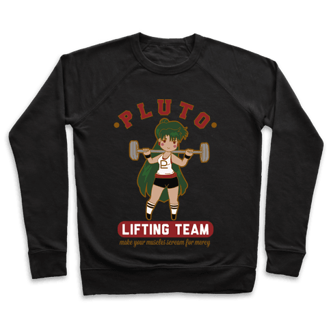 Pluto Lifting Team Parody Pullover