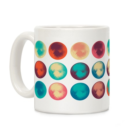 Pop Art Pluto Coffee Mug