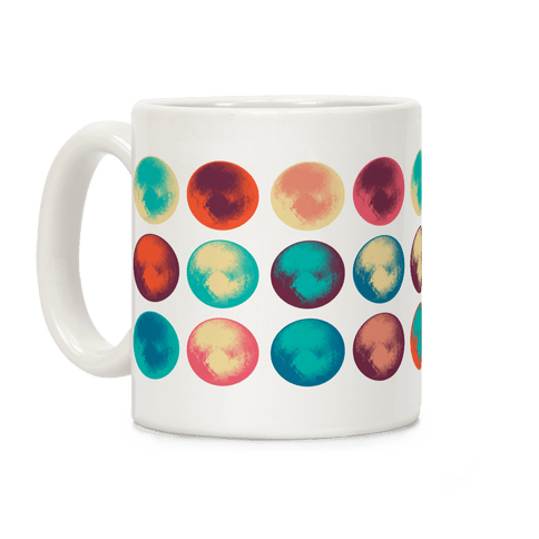 Pop Art Pluto Coffee Mug