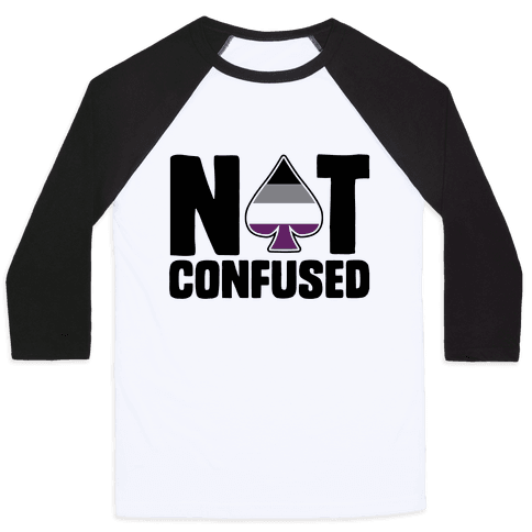Not Confused Baseball Tee