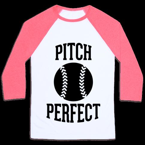 Pitch Perfect Baseball Tee