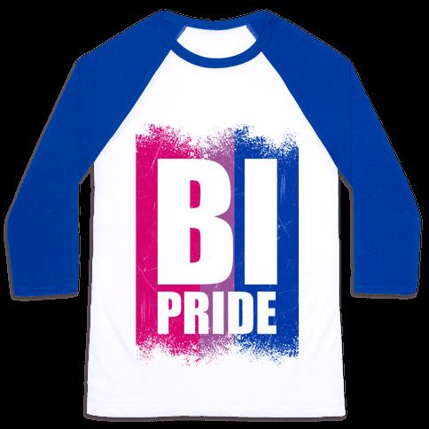 Bi Pride Baseball Tee