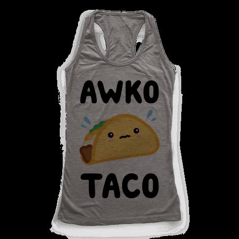 Awko Taco Racerback Tank Top