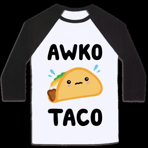 Awko Taco Baseball Tee