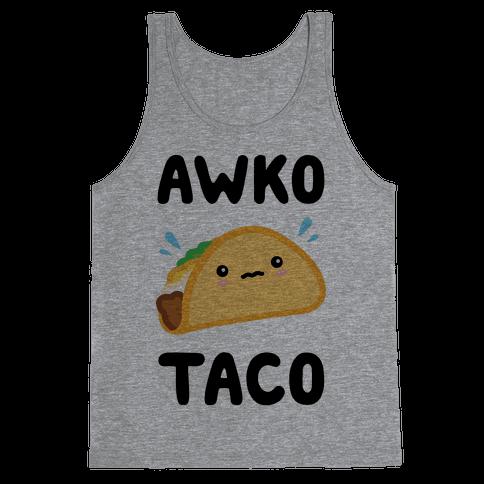 Awko Taco Tank Top