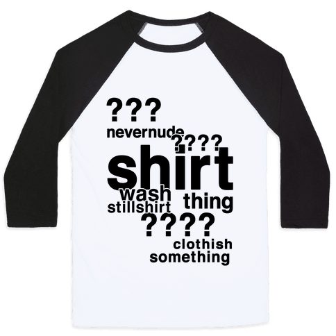 Sherlock Drunk Observations Shirt Baseball Tee