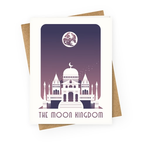 The Moon Kingdom Greeting Card