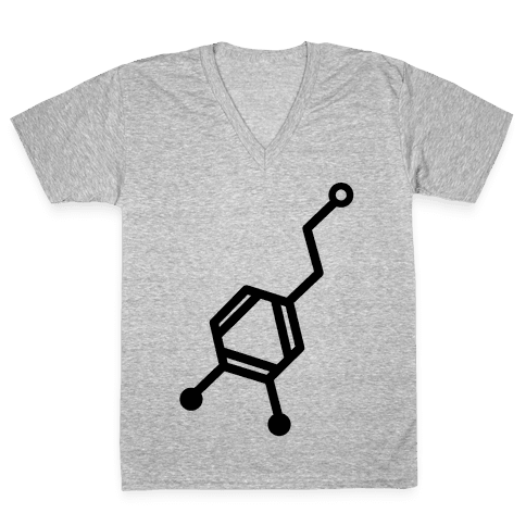 Dopamine V-Neck Tee Shirt