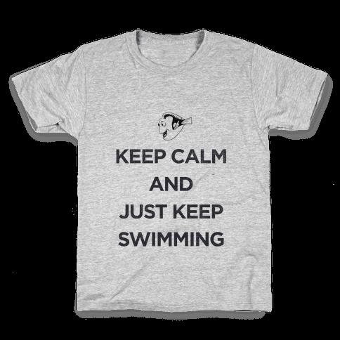 Keep Swimming (Dory) Kids T-Shirt