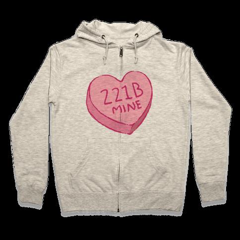 221B Mine Zip Hoodie
