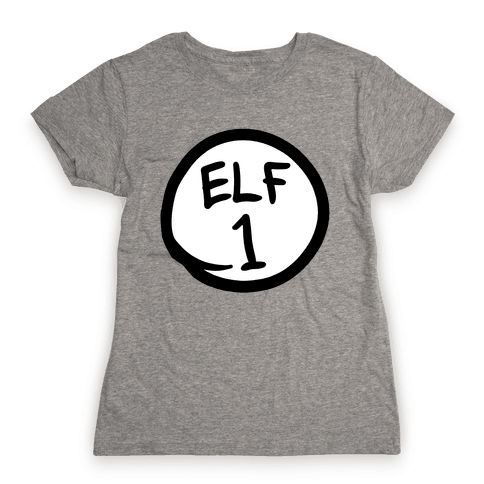 Elf One Womens T-Shirt