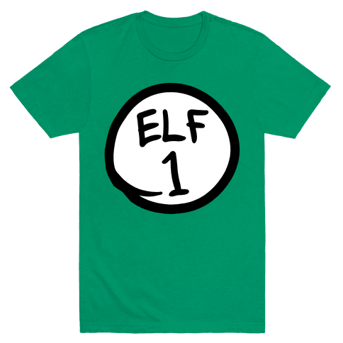Elf One Mens T-Shirt