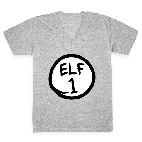 Elf One V-Neck Tee Shirt