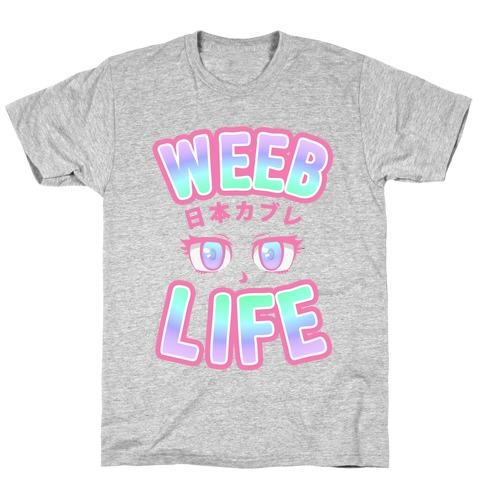 Weeb Life (Thug Life Parody) T-Shirt