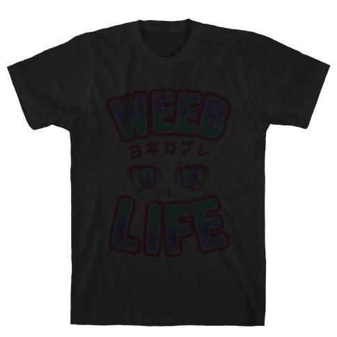Weeb Life (Thug Life Parody) Mens T-Shirt