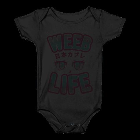 Weeb Life (Thug Life Parody) Baby Onesy