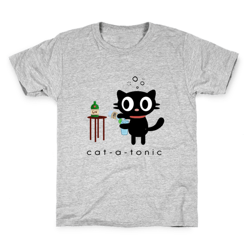 Cat-a-Tonic Kids T-Shirt