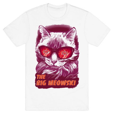 The Big Meowski Mens T-Shirt