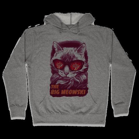 The Big Meowski Hooded Sweatshirt