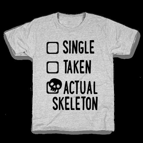 Actual Skeleton Kids T-Shirt