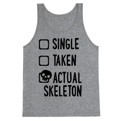 Actual Skeleton Tank Top