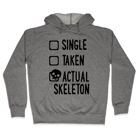 Actual Skeleton Hooded Sweatshirt