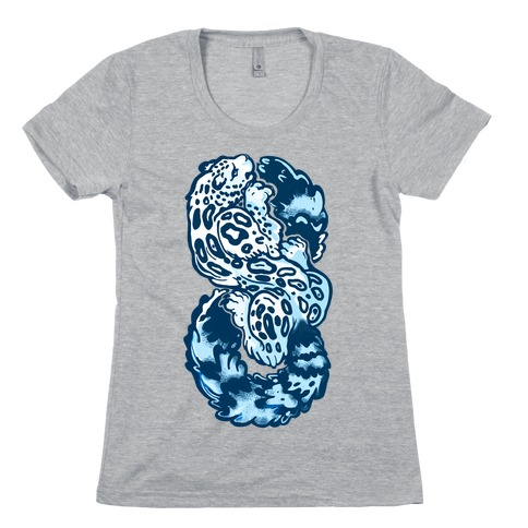 Infinity Snow Leopard (Alternate) Womens T-Shirt