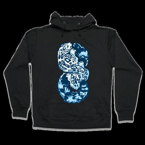 Infinity Snow Leopard (Alternate) Hooded Sweatshirt