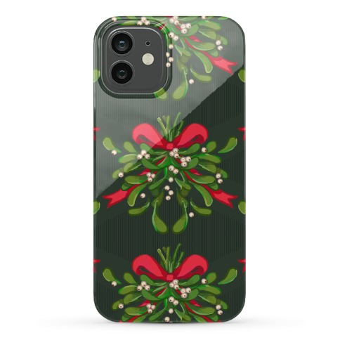 Mistletoe Pattern Phone Case