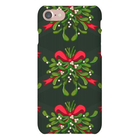Mistletoe Pattern Phone Case