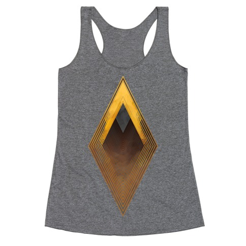 Golden Diamond Racerback Tank Top
